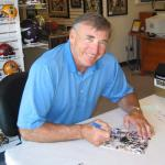 49er Hall of Famer Dave Wilcox autographing for National Sports Distributors