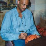 Kareem Abdul Jabar Signing for NSD
