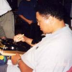 Muhammad Ali autographing bells for National Sports Distributors