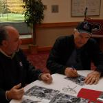 NSD President Rob Hemphill and 49er Dave Wilcox in Portland, OR