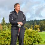 Dwight Clark appearing for golf event booked through NSD
