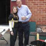 49er Dwight Clark at a BBQ function through NSD