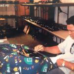 Muhammad Ali signing bell
