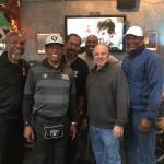 NSD Rob Hemphill watching the 2019 playoffs with some of the retired guys!
