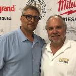 Tom Rathman with NSD Presidnet Rob Hemphill