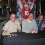 NSD President Rob Hemphill with Dwight Clark and Joe Montana iin Las Vegas