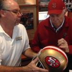 49er John Brodie Signing