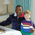 Tim Brown with Tyler Hemphill