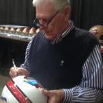 Hugh McElhenny signing for NSD