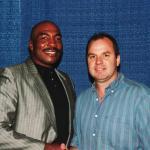 Ernie Shavers and NSD President Robert Hemphill