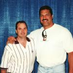 Rob Hemphill with Cowboys Mark Tuinei