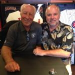 Fred Biletnikoff with Agent Robert Hemphill
