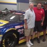 Roger Craig & Rob Hemphill with NASCAR team owner Bill McAnally