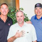 Dwight Clark, Robert Hemphill and Dave Wilcox