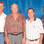 Troy Aikman, Terry Bradshaw, NSD Rob Hemphill and Preston Pearson