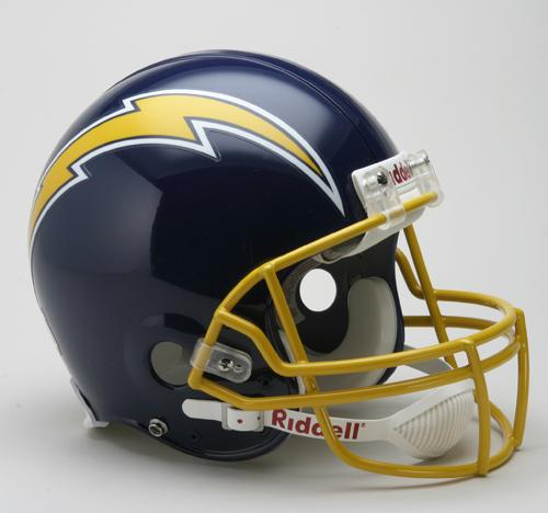 San Diego Chargers For Sale: San Diego Chargers Helmet 1974-87 Throwback Pro Line
