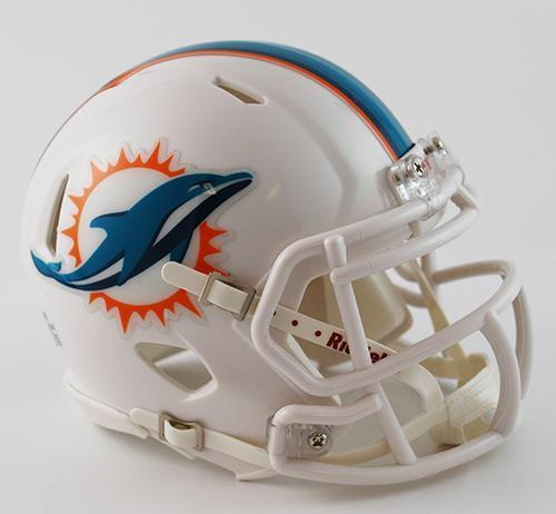promo code 67e16 1ec13 Miami Dolphins Mini Speed Helmets - Login for SALE Price ...