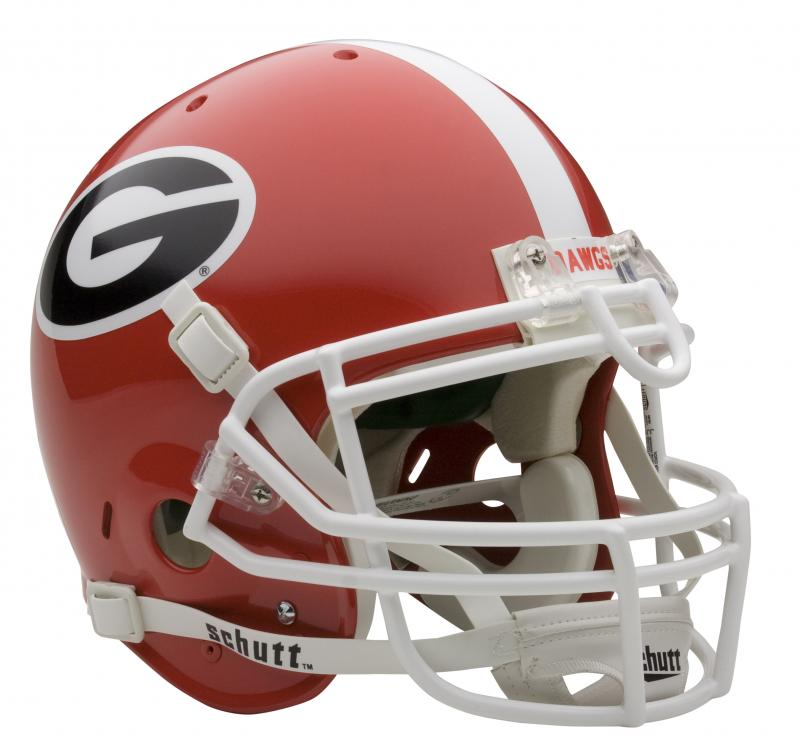 georgia bulldog helmets georgia bulldogs full size authentic helmet by schutt 3372