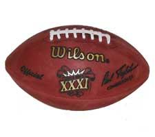 6bf697035 Super Bowl 31 Football Official Game Model by Wilson