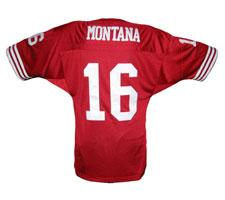 19b8732dc13 Joe Montana Jersey Authentic San Francisco 49ers Red