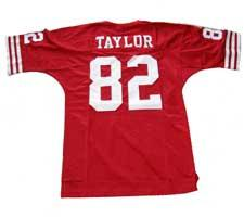 7e1623b014d John Taylor Authentic San Francisco 49ers Old Style Jersey