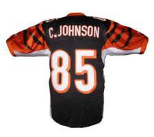 c0a1f886 Chad Johnson (Ochocinco) Cincinnati Bengals Jersey by Reebok, Home, size 48,