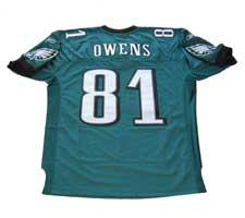 new style 5efcf 5bc17 Terrell Owens Authentic Philadelphia Eagles Jersey by Reebok ...