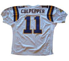 sale retailer 7609d fc2ef Daunte Culpepper Authentic Minnesota Vikings Jersey by ...