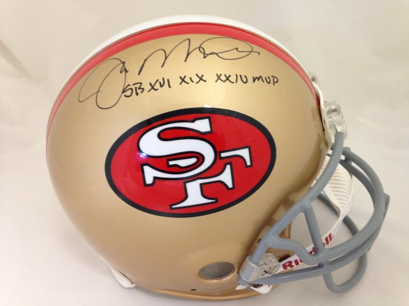 Joe Montana Autographed San Francisco 49ers Throwback Pro Line Helmet by  Riddell b295a9631
