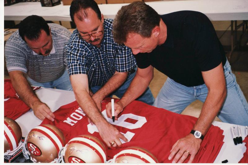 new arrival 25c84 624cd Joe Montana Autographed Jersey Authentic San Francisco 49ers ...