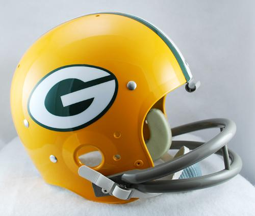 6cce8f86393 Green Bay Packer Helmet 1961-79 TK - Login for SALE Price. «