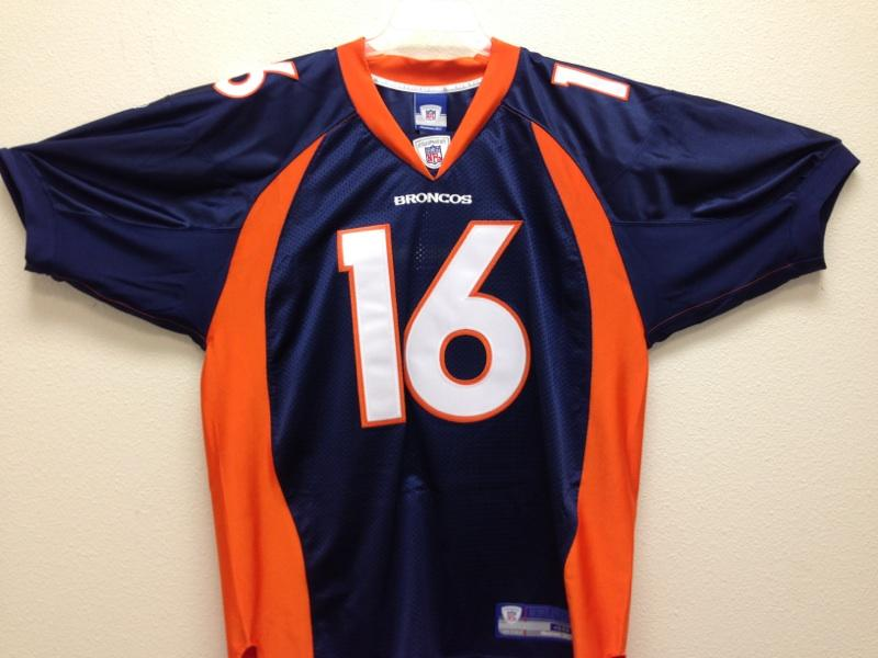 new concept a671f 68cfc Jake Plummer Denver Broncos Authentic Jersey by Reebok, size ...