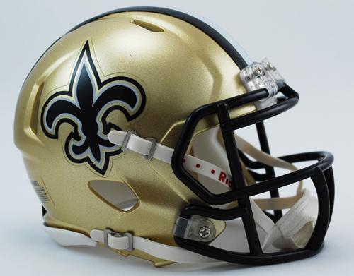 half off 18212 df351 New Orleans Saints Mini Speed Helmets - Login for SALE Price ...