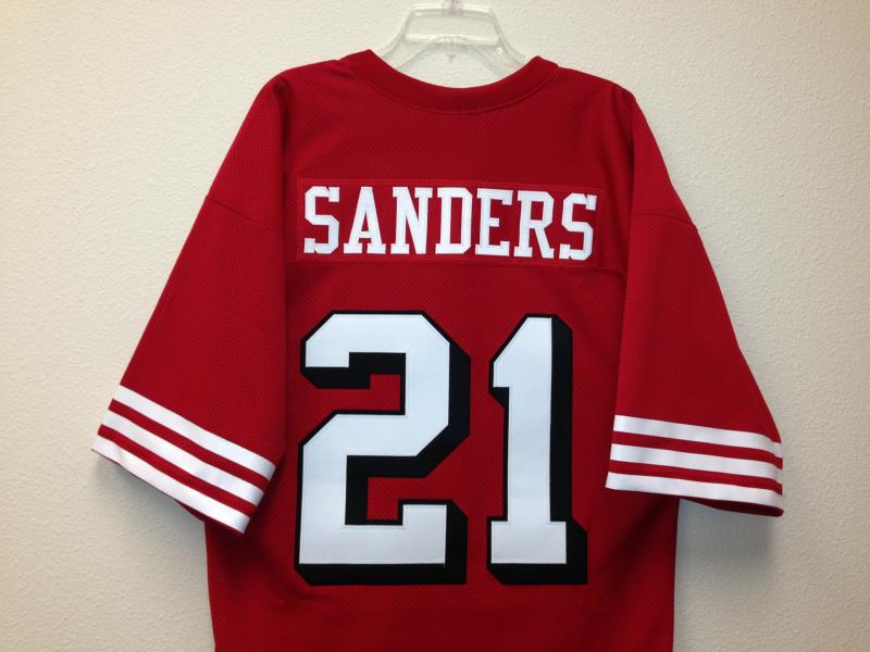 reputable site f4956 15fc7 Deion Sanders Authentic San Francisco 49ers old style Jersey ...