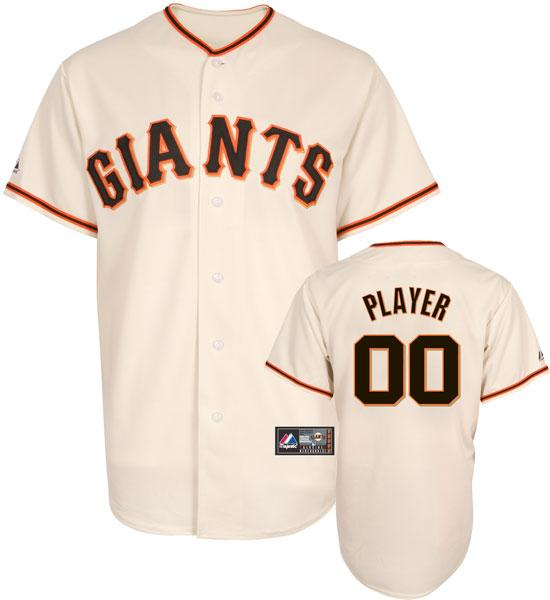 San Francisco Giants Replica Home Ivory Baseball Jersey by Majestic fb76f8a39