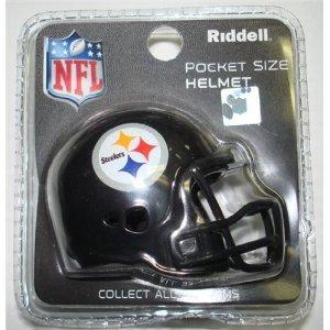 a2c8b8bd224 Pittsburgh Steelers Revolution Pocket Pro Helmet by Riddell