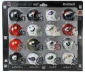 16 Piece AFC Set Pocket Pro NFL Division Set by Riddell