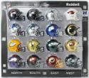 NFC 16 piece Pocket Pro NFL Division Set by Riddell