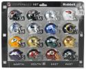16 piece NFC Pocket Pro NFL Division 2016 Set by Riddell