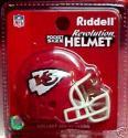 Kansas City Chiefs Revolution Pocket Pro Helmet by Riddell