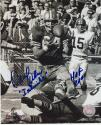 "Dave Wilcox 49ers Autographed 8x10 #281 signed with ""The Intimidator"" and HOF 20"
