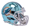 Dolphins Chrome Helmet