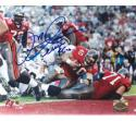 Mike Alstott Tampa Bay Buccaneers 8x10 #113 Autographed Photo