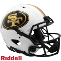 Lunar Authentic Speed Helmets 49ERS