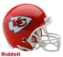 Kansas City Chiefs VSR4 Mini Helmet