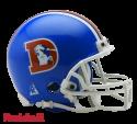 Denver Broncos 1975-96 Throwback Replica Mini Helmet by Riddell