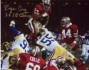 "49ers Roger Craig Autographed 8x10 #329 with ""3xSB Champ"""