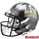Super Bowl 55 Champions Buccaneers Speed Authentic Helmet by Riddell