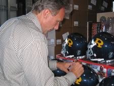 Joe Montana Autographed Helmet - Ringgold High