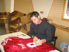 Steve Young Autographed Jersey NSD